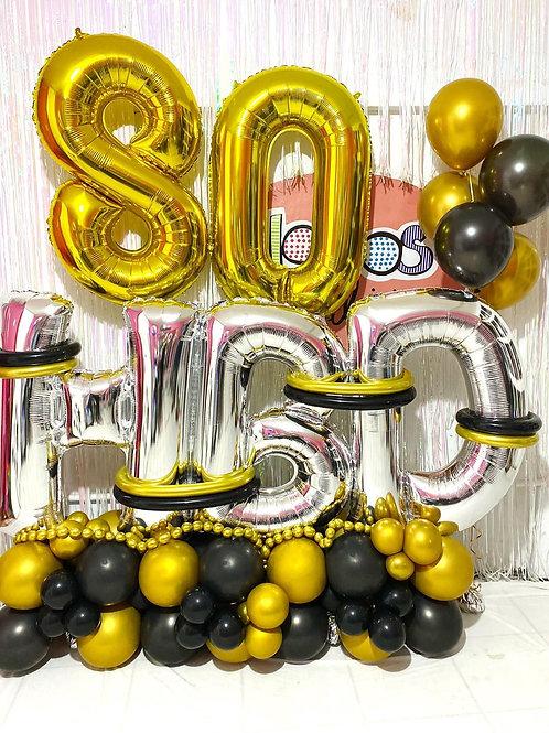 Balloon Bouquet 80