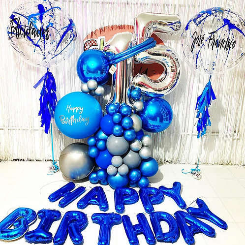 Bouquet 15 Azul