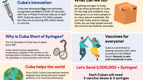 Help send urgently-needed syringes to Cuba