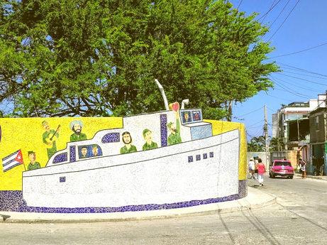 Trip to Cuba: Castro's Boat
