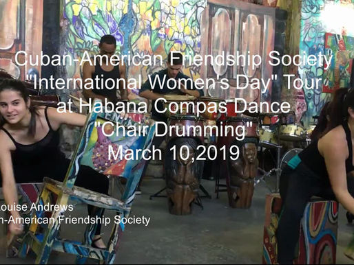 Cuban Chair Drumming with Habana Compás