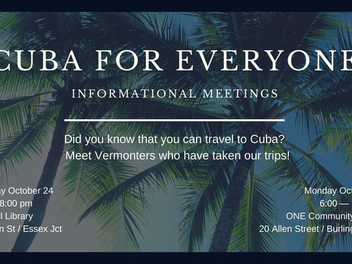Did you know that you can travel to Cuba?