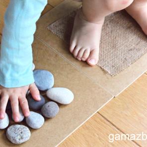 Ścieżka sensoryczna DIY
