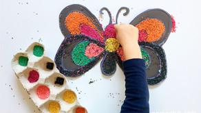 Kasza jaglana – Kompozycja Motyl