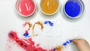 Malowanie cukrem – Domowa plastyka sensoryczna