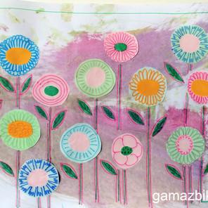 Sensoryczna zabawa gąbką – Kreatywna zabawa plastyczna
