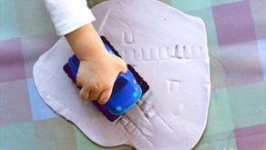 Domowa Plastyka Sensoryczna - Ciastoplastyka – Płaskorzeźba
