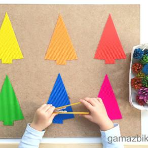 Sensoryczny zestaw do sortowania kolorów