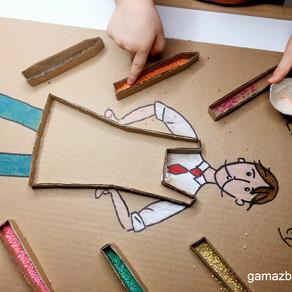 Zabawy z bohaterami bajek dla dzieci