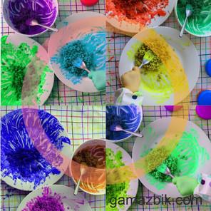 Domowa plastyka sensoryczna dla dzieci - Zabawa ziarnami soczewicy
