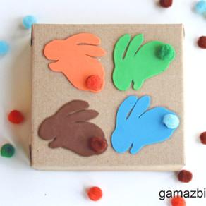 Koordynacja oko-ręka – Zabawka z recyklingu