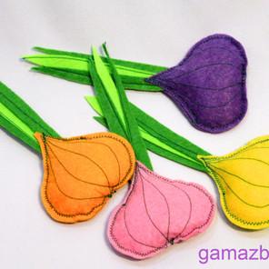 Jak uszyć kolorową cebulkę - miękką zabawkę dla dziecka?