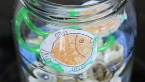 Złota Rybka dla Taty – Kreatywna zabawa plastyczna