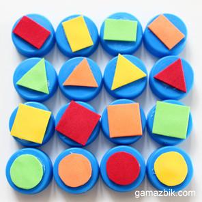 Mini szachy dla malucha – Zabawka edukacyjna z recyklingu