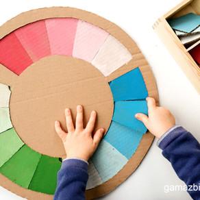 Koło odcieni – Sorter kolorów DIY