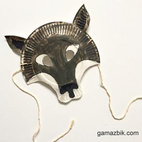 Maska wilka DIY