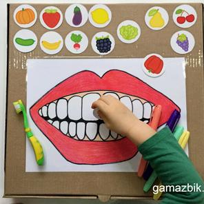 Higiena jamy ustnej - Zabawka edukacyjna DIY