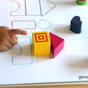 Obrazki 3D z klocków – Myślenie przestrzenne