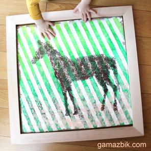 Sensoryczne malowanie – Szkoła kreatywności - Tworzenie sztuki do domu