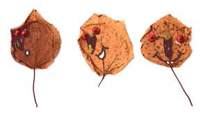 Jesienne liście – zabawa plastyczna
