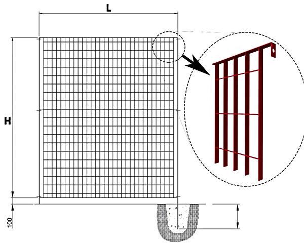 gradil eletrofundio preço