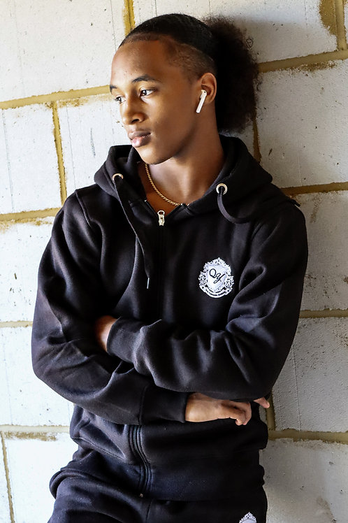 QY Couture - Unisex Zipped Hoodie