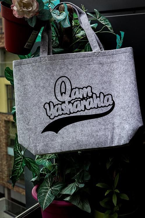QAM YASH CLTH - Felt Shopper Bag Wallet