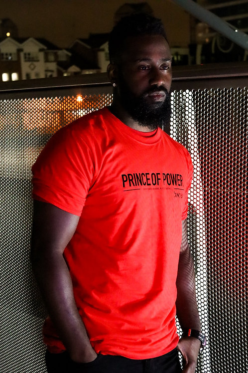 PRINCE OF POWER - Red Unisex T-Shirt