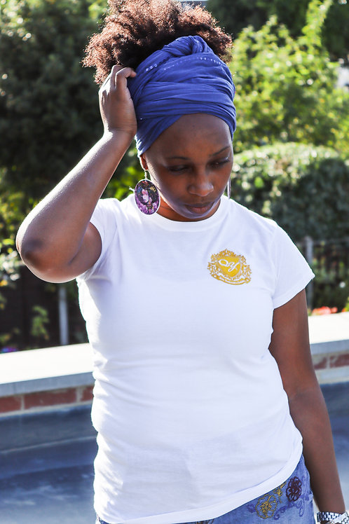 QY Couture - Women's Embroidered T-Shirt