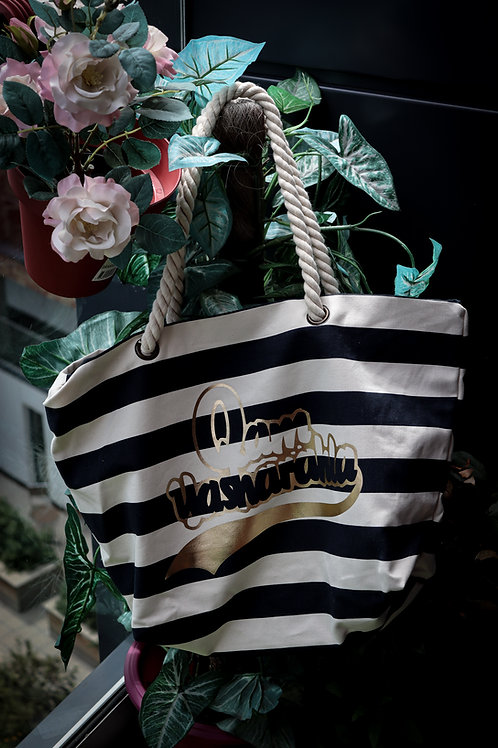 QAM YASH CLTH - Canvas Nautica Beach Bag