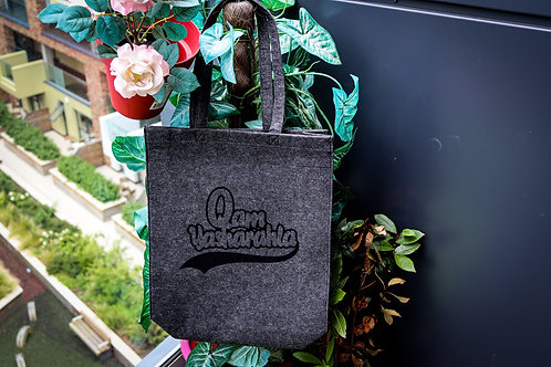 QAM YASH CLTH - Felt tote bag