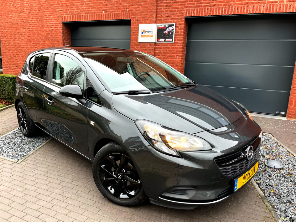 Opel Corsa 5 drs Black Edition 2018 39 dkm NAVI Apple carpl