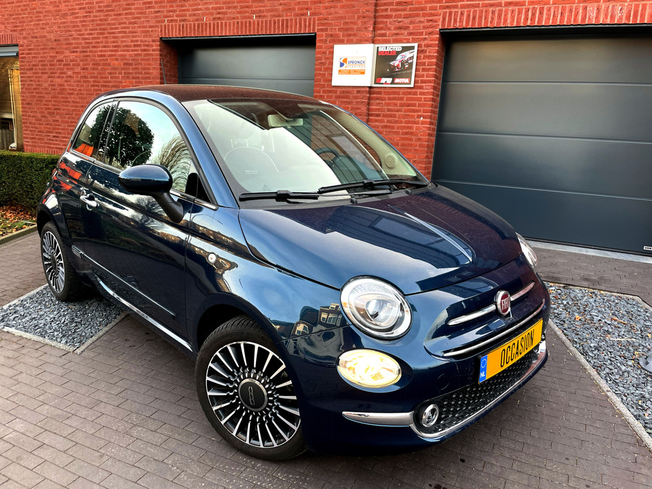 Zeer mooie Fiat 500 Lounge Automaat 1,2 2019 1e eig 18000km