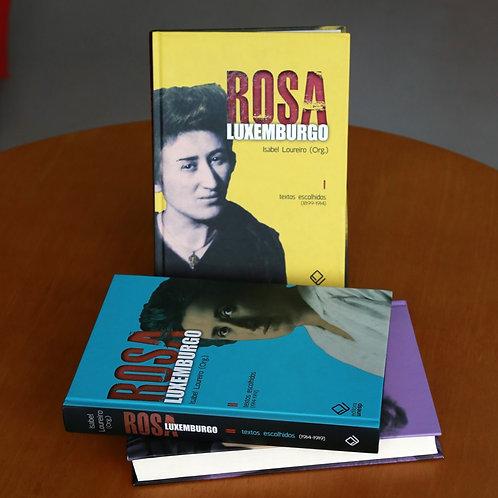 Coleção Rosa Luxemburgo - volumes I, II e III