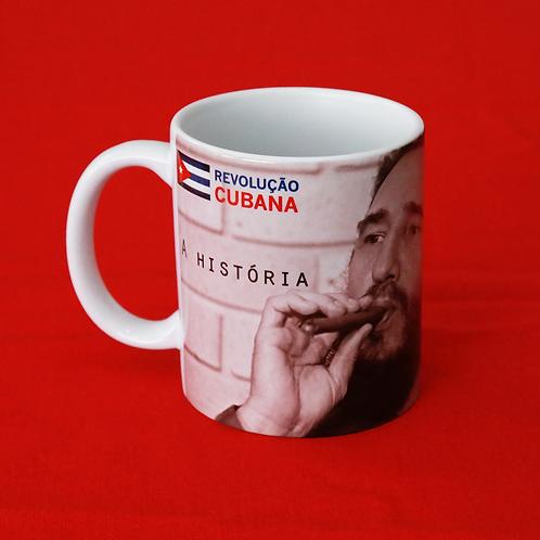 """Caneca """"A história me absolverá"""" - Revolução Cubana"""