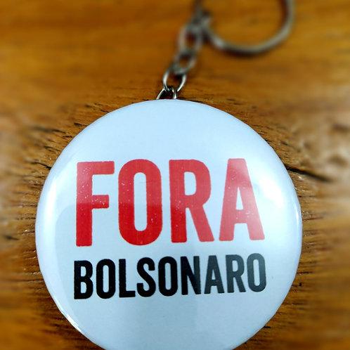 Chaveiro-abridor Fora Bolsonaro