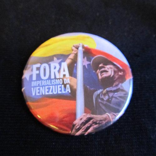Bóton Fora Imperialismo da Venezuela 2
