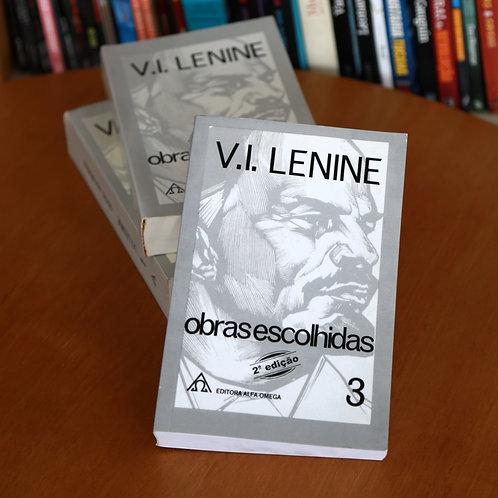 Coleção Lênin - Obras Escolhidas, Volumes I, II e III
