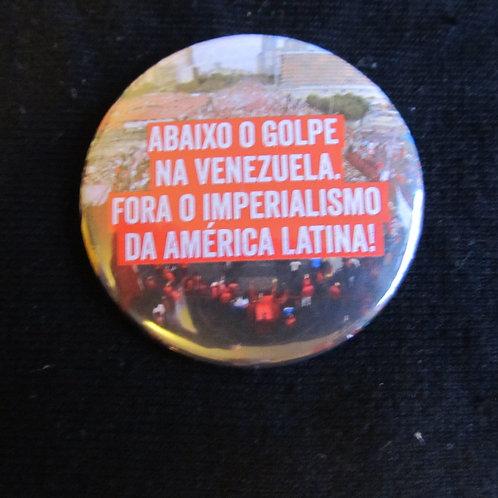 Bóton Fora o Imperialismo da América Latina