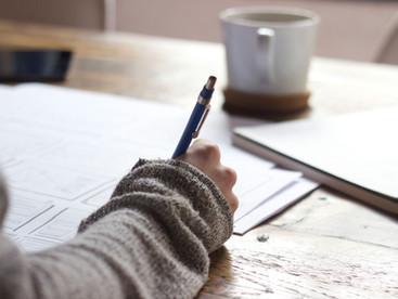3 Steps to Start Writing Again