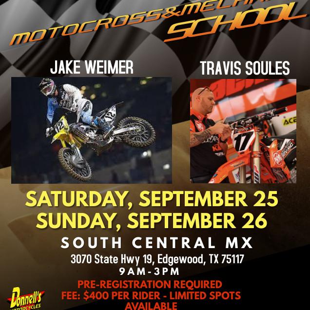 Motocross and Mechanic School Feat. JAKE WEIMER