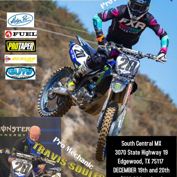 South Central MX Riding/Mechanic School with BROC TICKLE