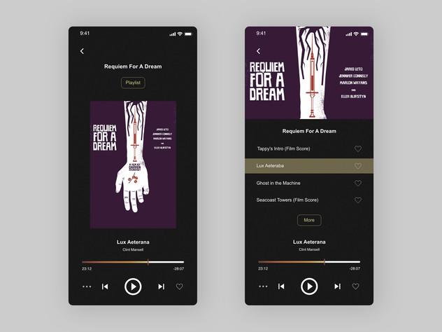 Daily UI_Music Player