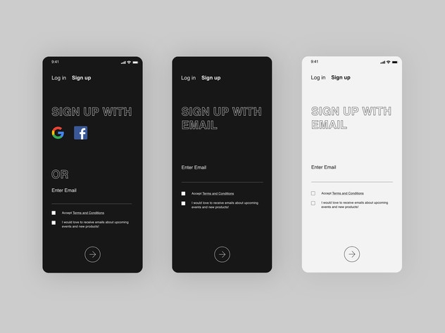 Daily UI_Sign up