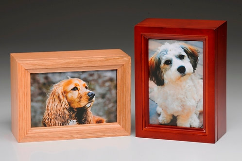 B-14 Pet Photo Frame Urn 4 inch x 6 inch