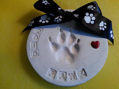 Paw Impressions Ceramic
