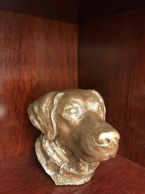 Labrador Retriever Bust Urn