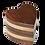 Thumbnail: Acacia Wood Heart Pet Urn