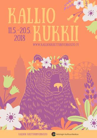 JULISTE - Kallion Kulttuuriverkosto, 2015-2018