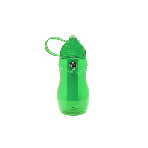 Botella de plástico con barra enfriadora de bebidas